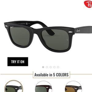 Ray-Ban Wayferer Class Sunglasses (Polarized)